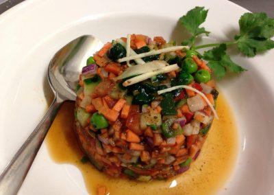 Fulwari Salad only at Namaste!